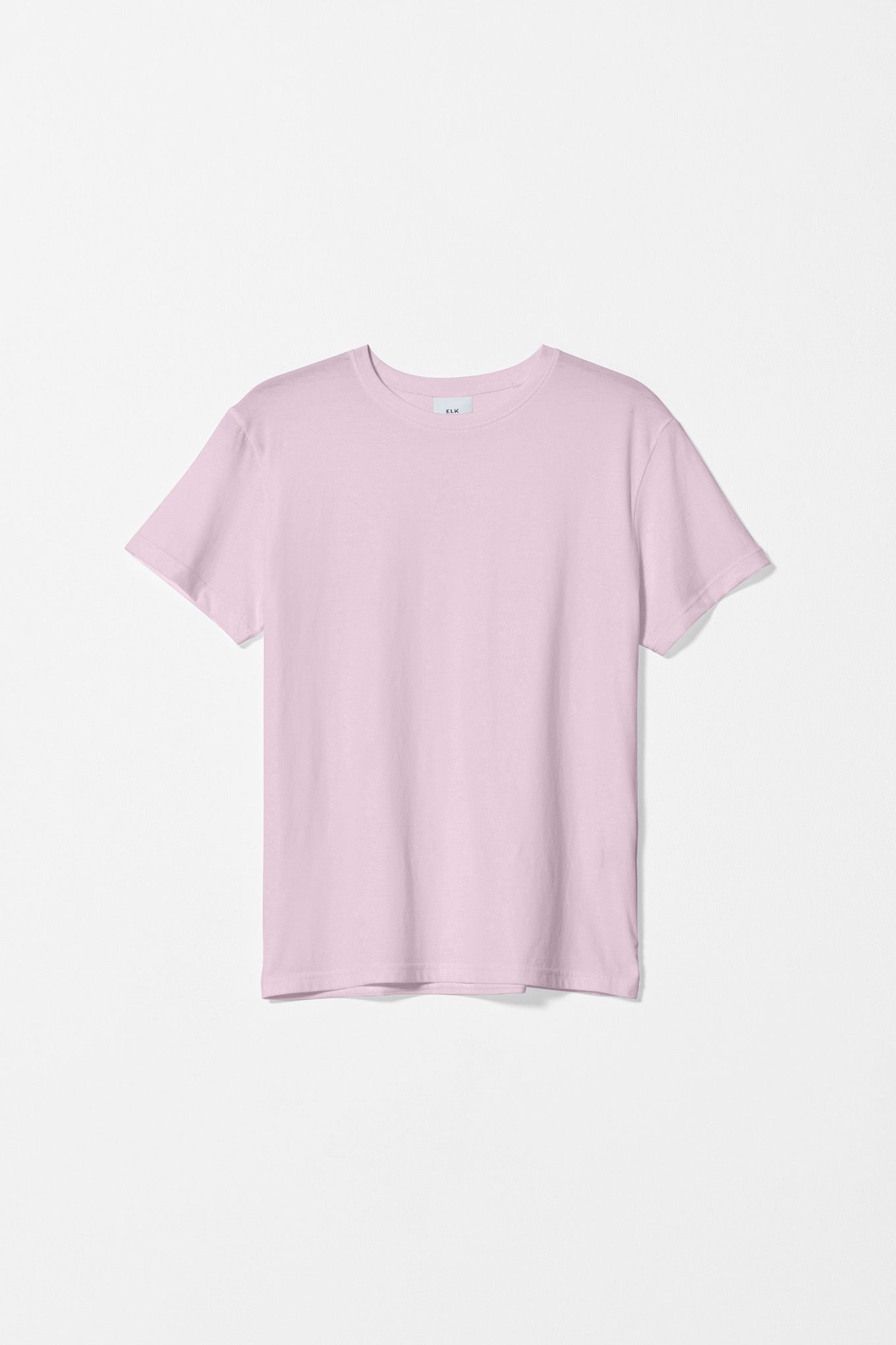 Elk Henning tee t-shirt in organic cotton, rose pink.