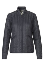 Load image into Gallery viewer, Ilse Jacobsen QUILT03 light quilt jacket in dark indigo navy.