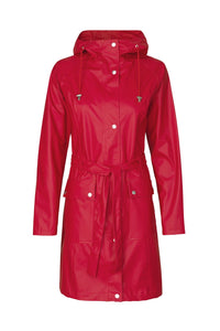Ilse Jacobsen RAIN70 Light rain trench coat - Red