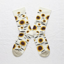 Load image into Gallery viewer, Bonne Maison socks - Natural Sunflower