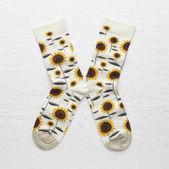 Bonne Maison socks - Natural Sunflower