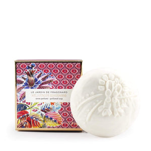 Fragonard French boxed gift soap Heliotrope gingembre (heliotrope ginger).
