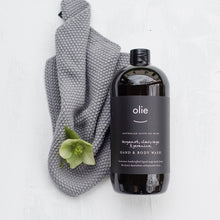 Load image into Gallery viewer, Olieve & Olie bergamot, clary sage and geranium organic olive oil hand and body wash.