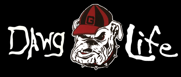 University of Georgia Bulldogs Dawg Life Decal