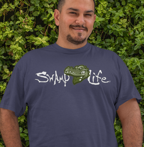 Swamp Life Alligator Gator Unisex Short SleeveT-Shirt