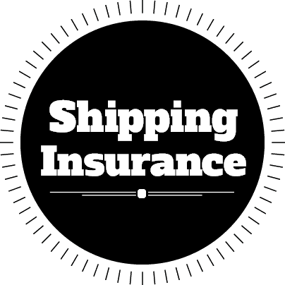 Shipping insurance - 1% of Total Cost for