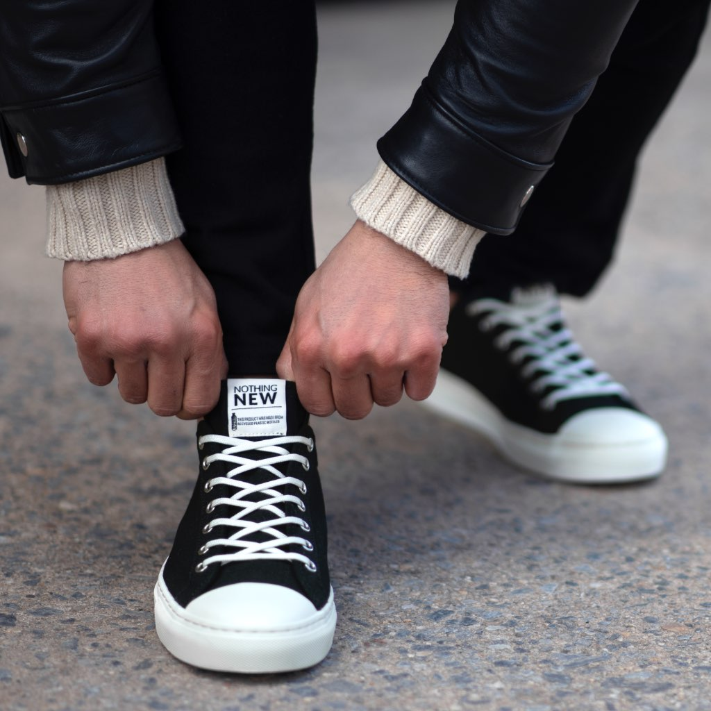 Men's Low Top | Black x Off-White