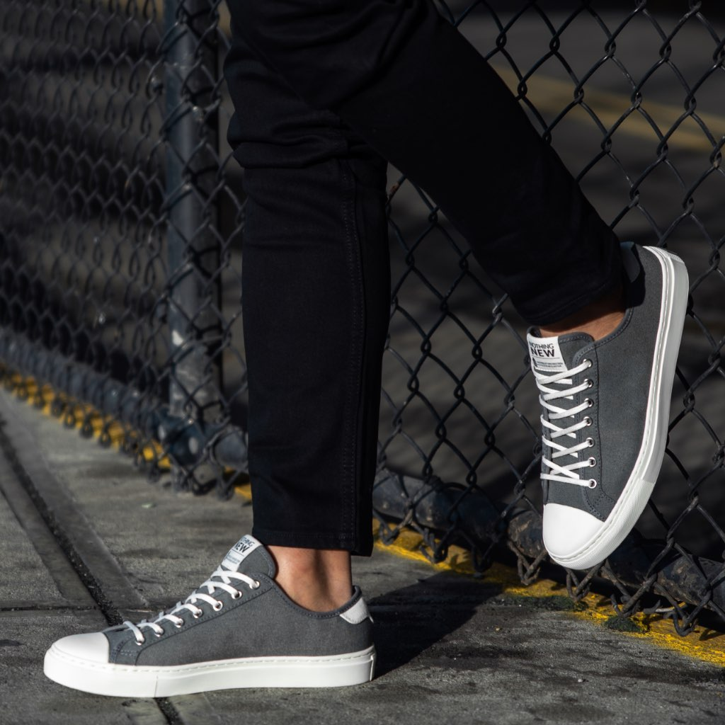 Men's Low Top | Grey x Off-White