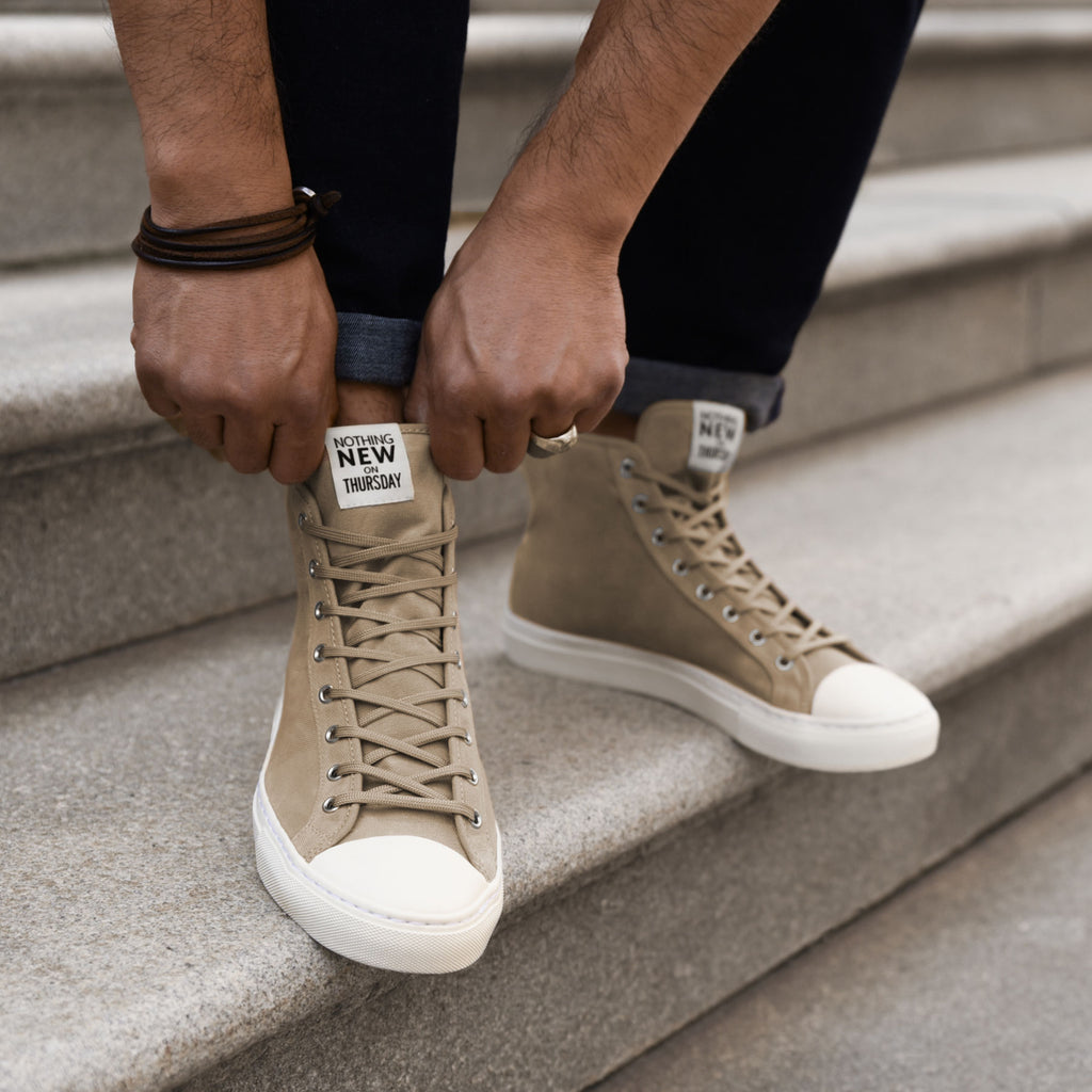 Men's High Top | Field Tan x Off-White