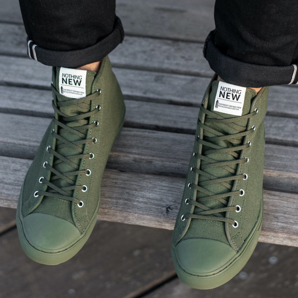Men's High Top | Forest