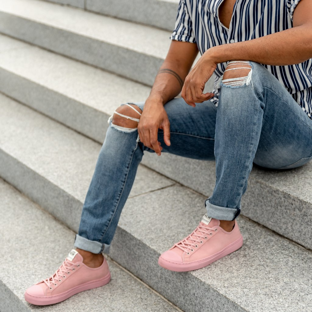 Men's Low Top | Pink