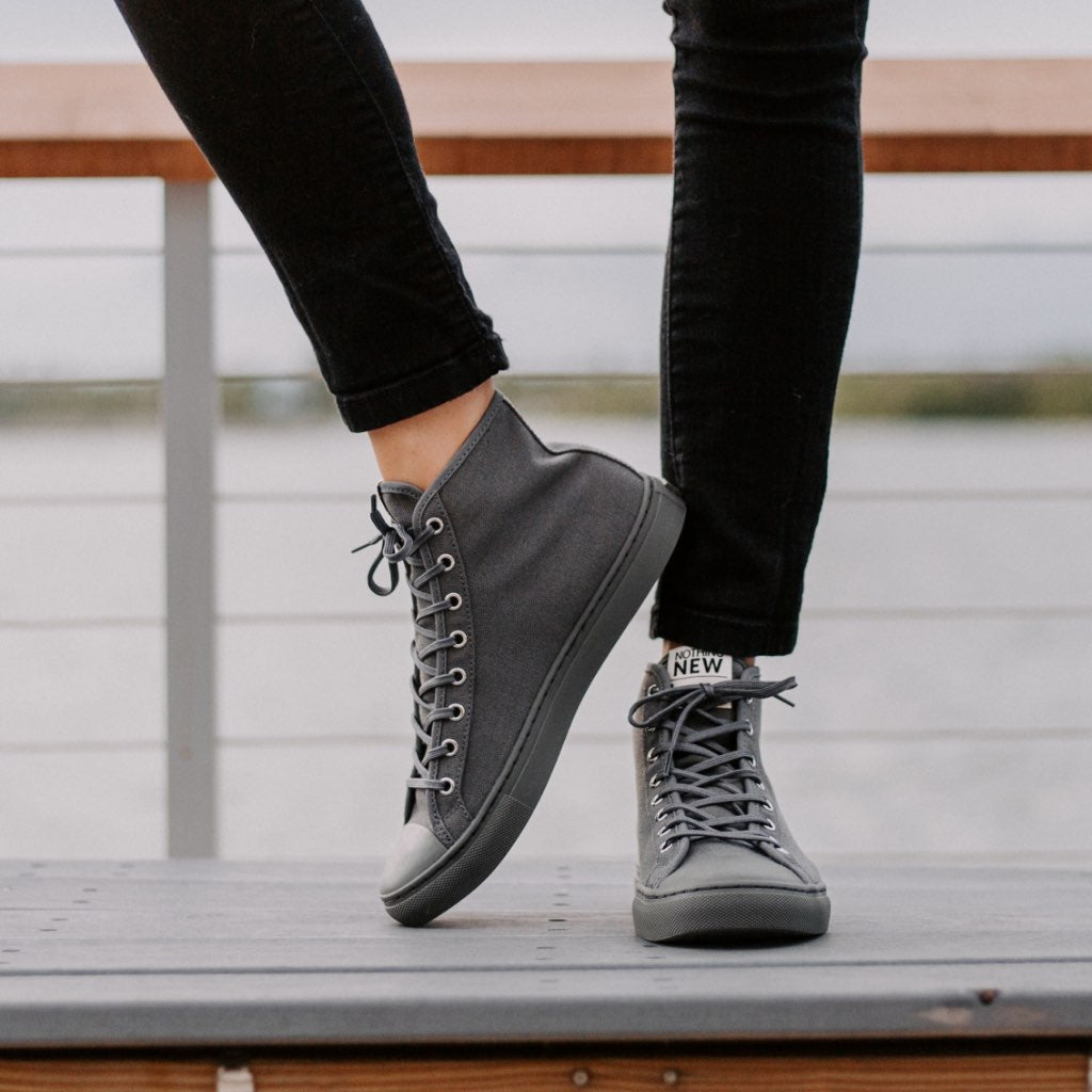 Women's High Top | Grey