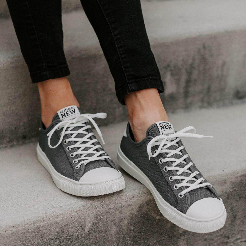 Women's Low Top | Grey x Off-White
