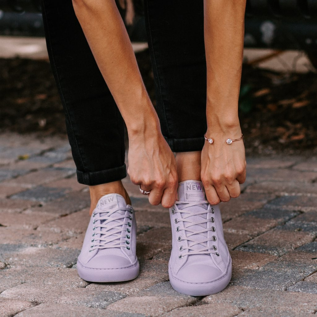 Women's Low Top | Lavender