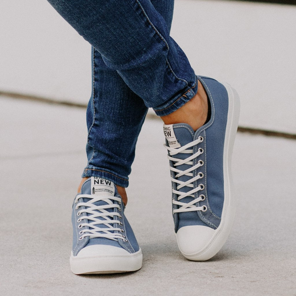 Women's Low Top | Sky Blue x Off-White