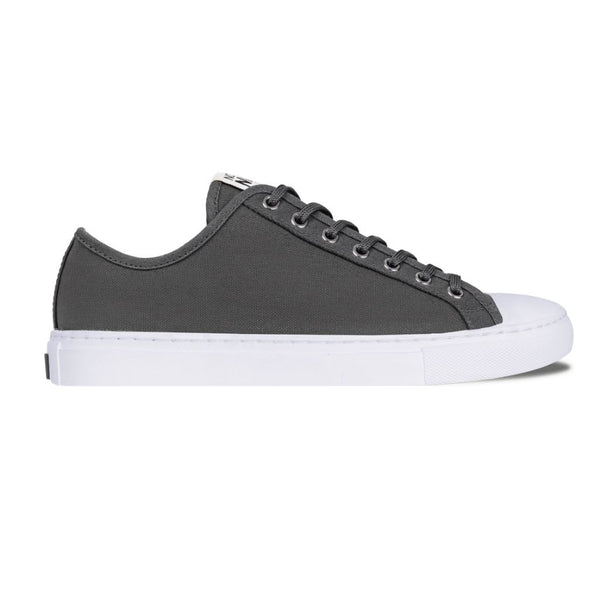 Women's Low Top | Grey x White
