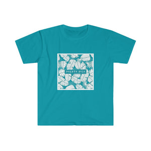 Puerto Rico Tropical - Men's Fitted Short Sleeve Tee