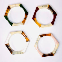 Load image into Gallery viewer, Hexagon Bangles