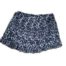 Load image into Gallery viewer, Blue Animal Mini Skirt