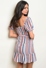 Load image into Gallery viewer, Womens Multi Stripes Dress