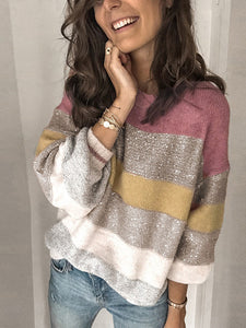 Valeria's Striped Sweater