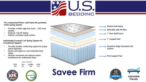 The Savvee Firm By U.S. Bedding