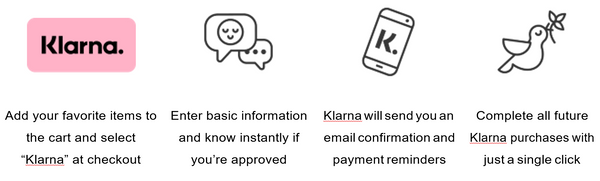 How to pay with Klarna | Home Grown Superstore