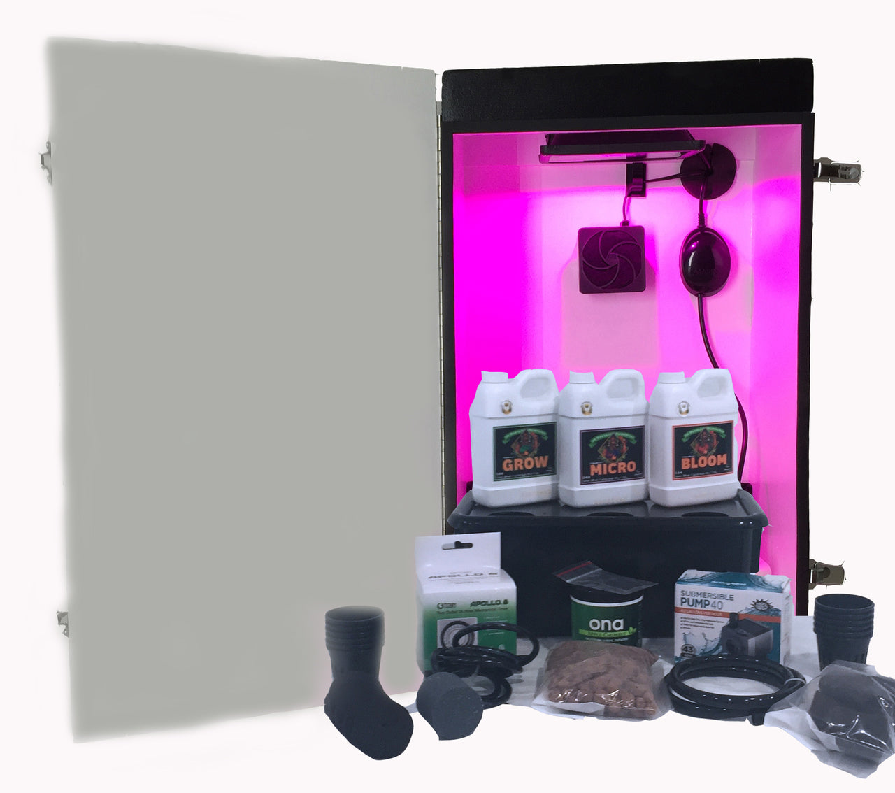 Baby Cloner - 6 Plant Baby Seedling or Cloning Grow Box Cloner