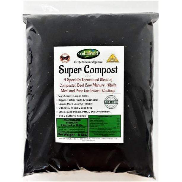 Soil Blend 8 lb Super Compost | YourGrowDepot.com