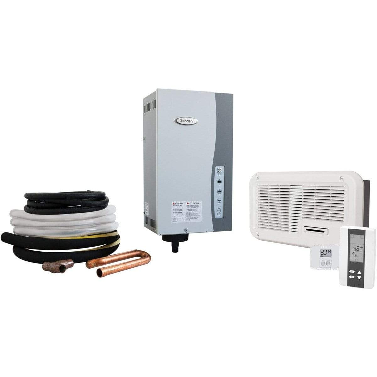 Anden Steam Humidifier w/Fan Pack and Digital Humidistat | YourGrowDepot.com