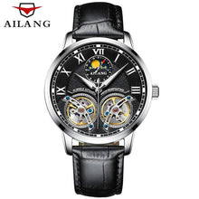 Load image into Gallery viewer, AILANG Skeleton Double Tourbillon  Automatic Mechanical Watch(Swiss Made)