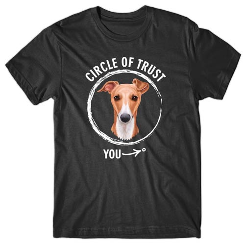 Circle of trust (Whippet) T-shirt