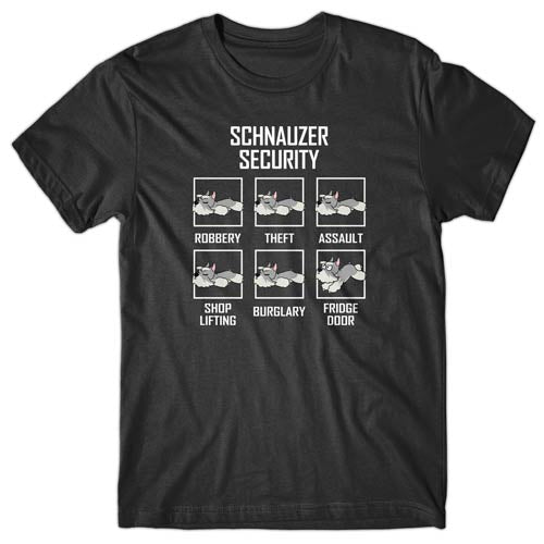 Miniature Schnauzer Security T-shirt