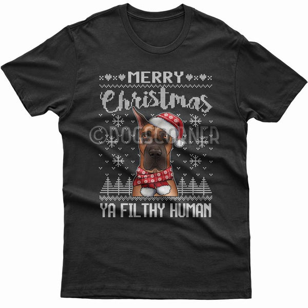 merry-christmas-filthy-human-great-dane-t-shirt