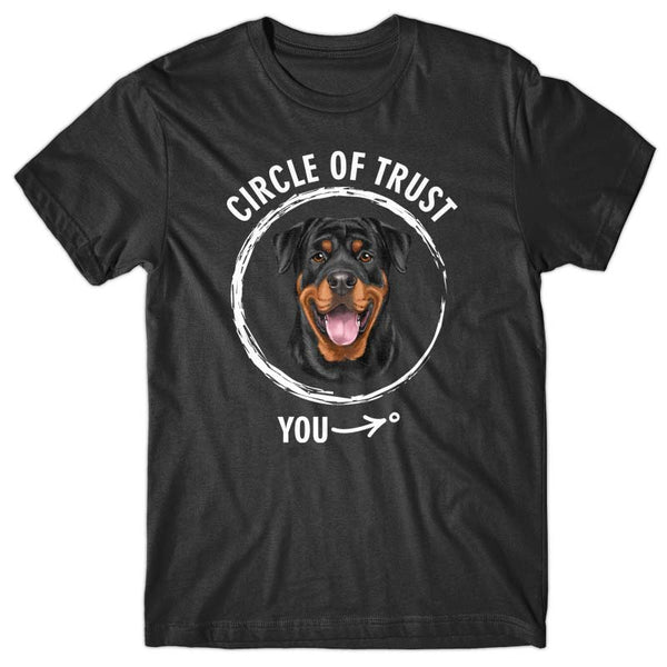 Circle of trust (Rottweiler) T-shirt