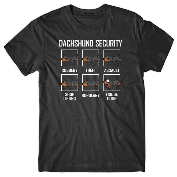 Dachshund Security T-shirt