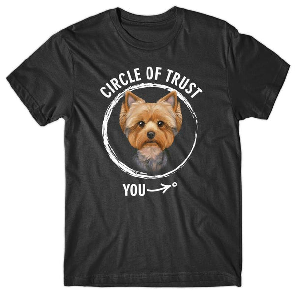 Circle of trust (Yorkshire Terrier) T-shirt