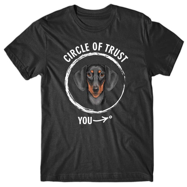 Circle of trust (Dachshund) T-shirt