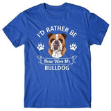 i'd-rather-be-home-with-bulldog-tshirt