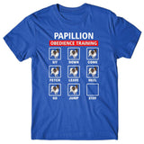 Papillon obedience training T-shirt