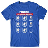 Poodle obedience training T-shirt
