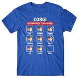 Corgi obedience training T-shirt