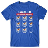 Cavalier obedience training T-shirt