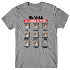 Beagle obedience training T-shirt