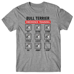 Bull Terrier obedience training T-shirt