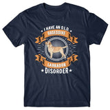 I have an O.L.D - Obsessive Labrador Disorder T-shirt