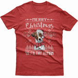 Merry Christmas you filthy human T-shirt (Jack Russell)