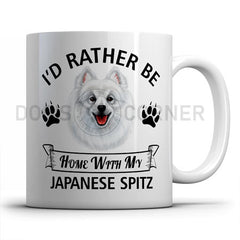I-d-rather-be-home-with-japanese-spitz-mug