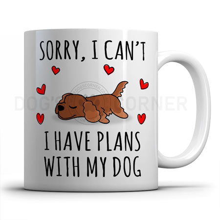 sorry-i-have-plans-with-cocker-spaniel-mug