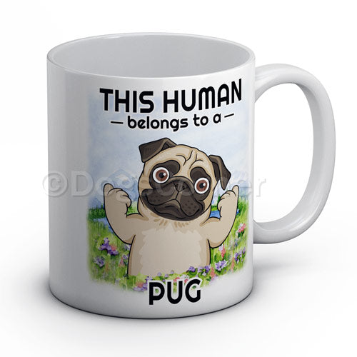 this-human-belongs-to-pug-mug
